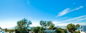 3603 4th Ave roof top view of the Gulf Anna Maria Island