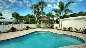 Fabulous rental 2/1 each side w/ 2 private pools!